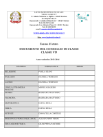 VD - DOCUMENTO 15 MAGGIO - Liceo scientifico Gobetti Segrè