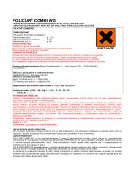 Etichetta Folicur Combi WG