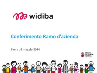 140506_Pesentazione WIDIBA - FABI Monte dei Paschi di Siena