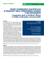 full text - pdf document - Giornale Italiano di Ortopedia e