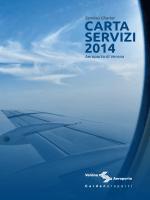 la carta dei servizi - Aeroporto di Verona