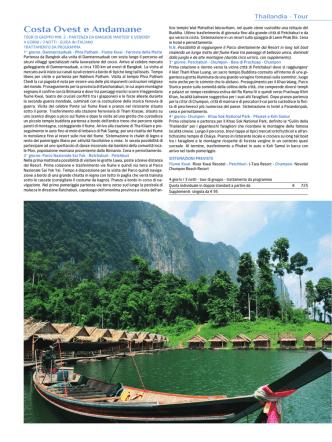 Costa Ovest e Andamane