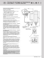 Istruzioni di montaggio ed impostazione elero BOX 5 – corrente