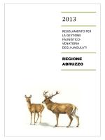 REGIONE ABRUZZO - A.T.C. Vomano
