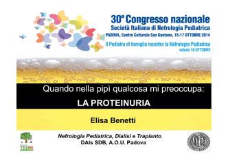 02_Proteinuria_relazione Benetti