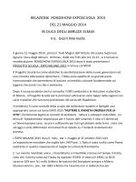 relazione PROGETTO SCUOLA EXPO 2015