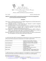 Nota UST Ravenna - Ambito territoriale per la provincia di Ravenna