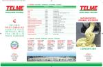 listino 2014 - Telme S.p.A.