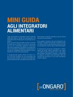 MINI GUIDA - Dr. Filippo Ongaro