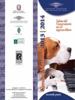 Serate Musicali - Stagione 2013/2014
