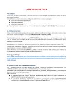LA CERTIFICAZIONE UNICA - Software Contabilita Blustring