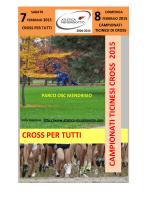 Classifica dei Campionati Ticinesi di cross 2015