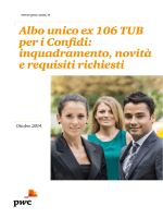 Albo unico ex 106 TUB per i Confidi: inquadramento, novità e