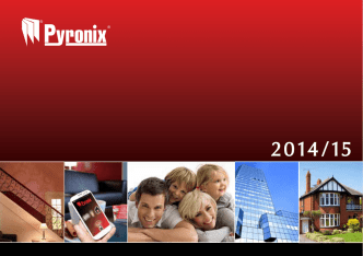 Catalogo Pyronix