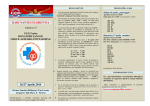 XVII Trofeo Donatori Sangue 2014