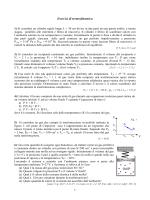Esercizi di termodinamica