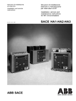 SACE HA1-HA2-HA3 ABB SACE