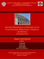 Report SIF 2011 - Servizio di informazione sul farmaco