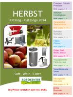 Catalogo prodotti Agrocenter Autunno 2014