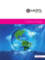 Listino Prezzi 2014