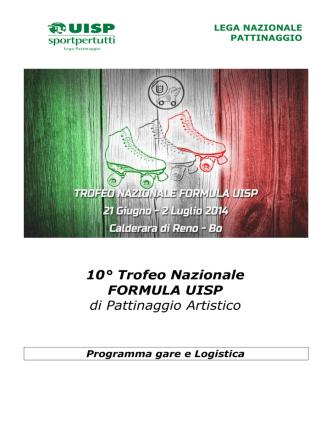 10° Trofeo Nazionale FORMULA UISP di