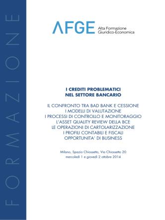 AFGE_NPL def - Alta Formazione Giuridico Economica