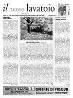 NUOVO LAVATOIO MAR./APR. 2014_GIORNALE IL LAVATOIO