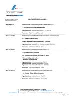 Calendario cross Fidal 2015 - Unione Sportiva Atletica Cafasse