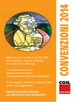 CONVENZIONI 2014 - CGIL REGGIO EMILIA