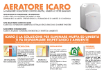 AERATORE ICARO - Emmeti Sistemi