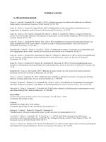 PUBBLICAZIONI A) Riviste Internazionali