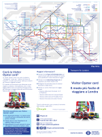 Visitor Oyster card - Italiano