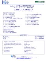 Oftalmologia Ambulatorio