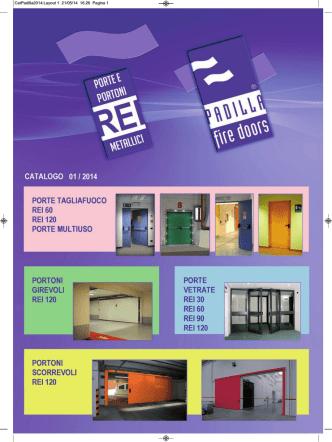 catalogo porte e portoni metallici edizione 01/2014