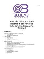 Manuale installazione sistema BLULAB 2.3.0