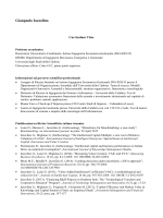 Curriculum - Università della Calabria
