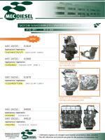 MOTORI SEMICOMPLETI / ENGINE LONG BLOCK