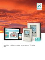 Centraline riscaldamento con compensazione climatica HCC