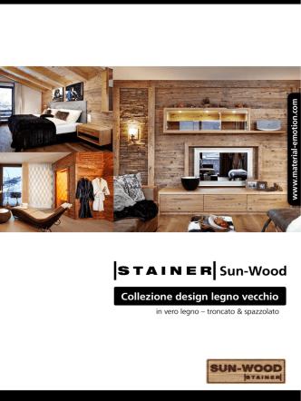 Collezione design legno vecchio - Stainer Schriften und Siebdruck
