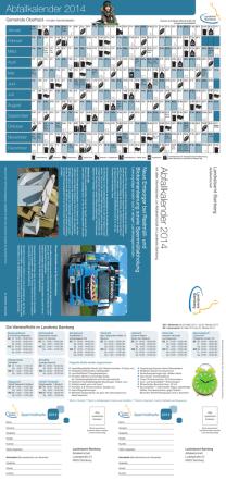 Abfallkalender 2015 - Landkreis Bamberg