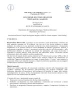 Programma - Istituto Superiore di Sanità