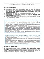 2. STEP SCHEDE (adempimenti per la compilazione PDP e PEI)