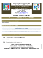Comunicato n.44 - FIGC Comitato Regionale Emilia Romagna