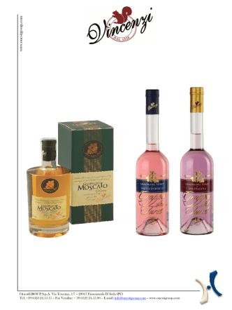 Bianca e Volta Grappe Nuove Distillerie Vincenzi