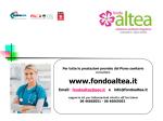 Presentazione Fondo Sanitario Altea