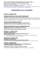 bollettino aste marzo 2015 - Istituto Vendite Giudiziarie di Vicenza