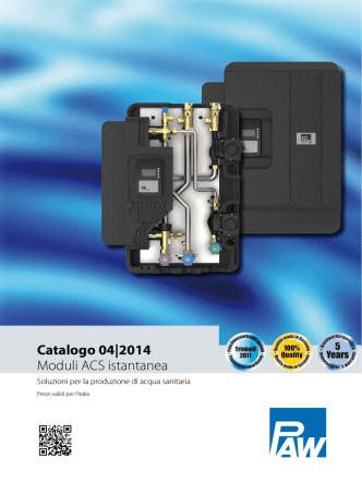 Catalogo 04|2014 Moduli ACS istantanea