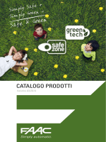 Catalogo FAAC - webcasa24.ch