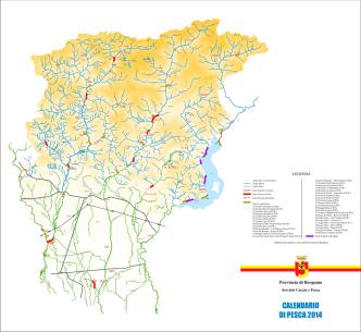 Cartina zone di pesca, scarica pdf