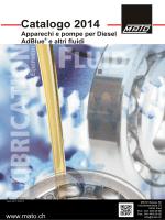 Catalogo 2014 diesel e altri fluidi
